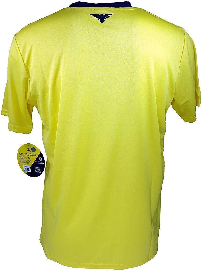002 RhinoxGroup Adult Club America Official Soccer Poly Jersey Shirt