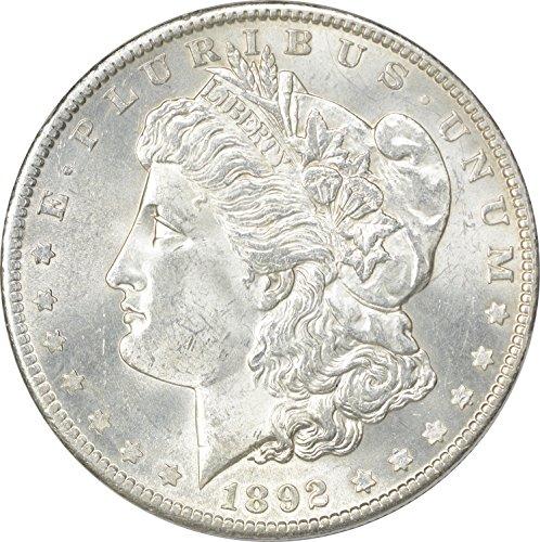 1892 Morgan Dollar MS60