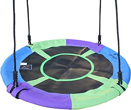 Kid Adult Outdoor 100cm Nest Tree Swing Rope Hanging Large Seat Garden Swing Toy