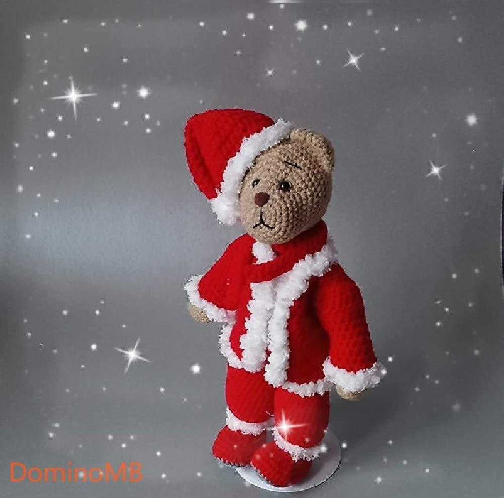 Handmade Crochet Bear Toy 11,8