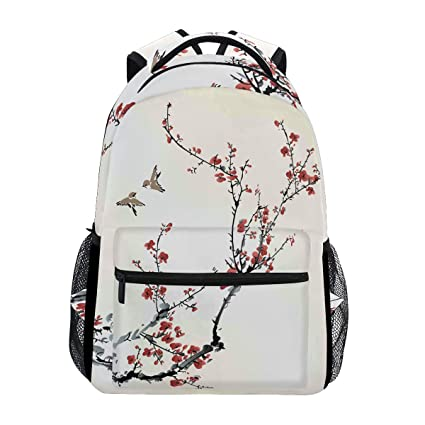 65bf828597 Amazon.com   Birds Winter Sweet Backpack Waterproof School Shoulder Bag Gym  Backpack