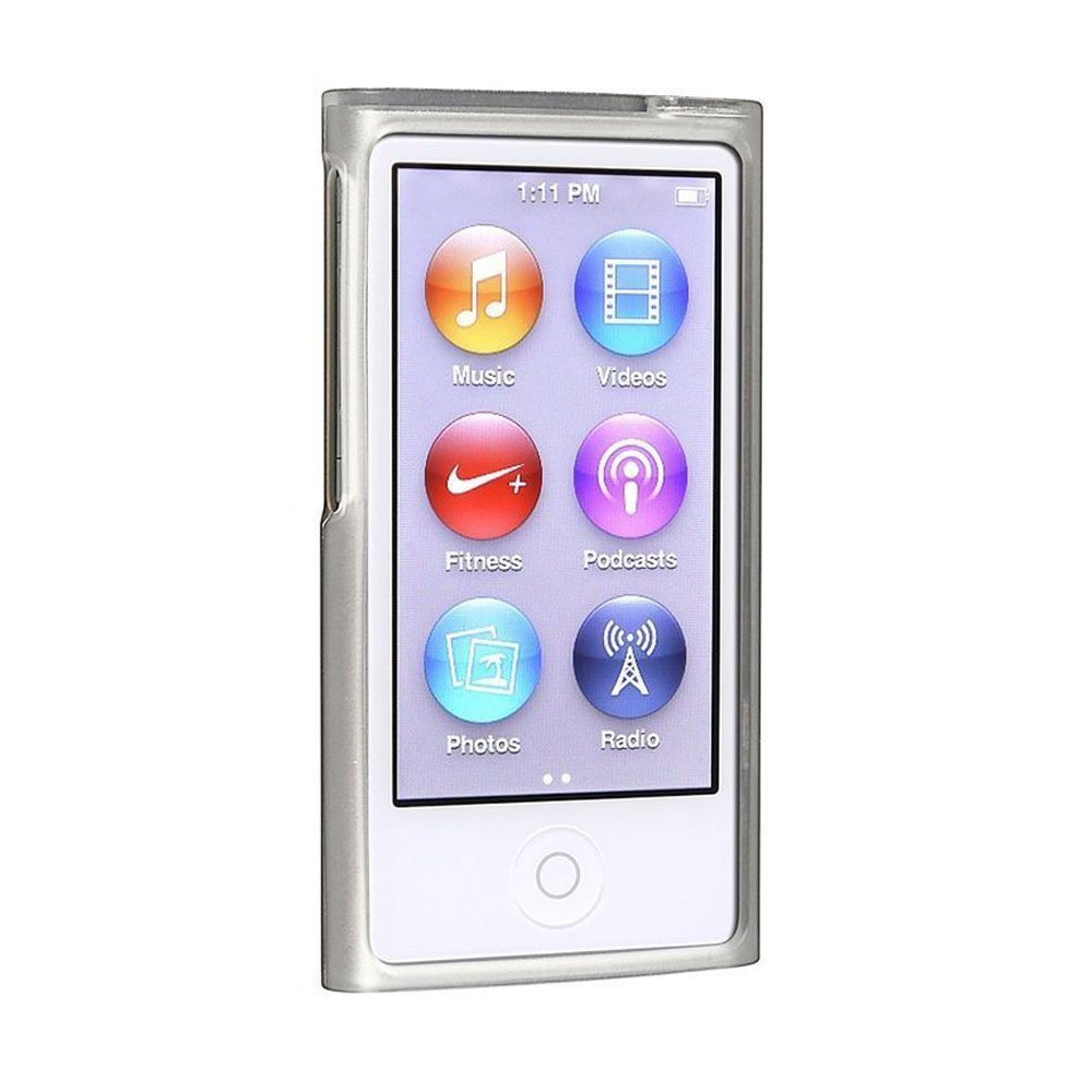 Anti Slip 2 pack Scratch-resistant Hard Snap-On Skin Case Cover for ipod Nano 8 Generation Crystal Clear ipod nano 8th generation Case Ultra Slim