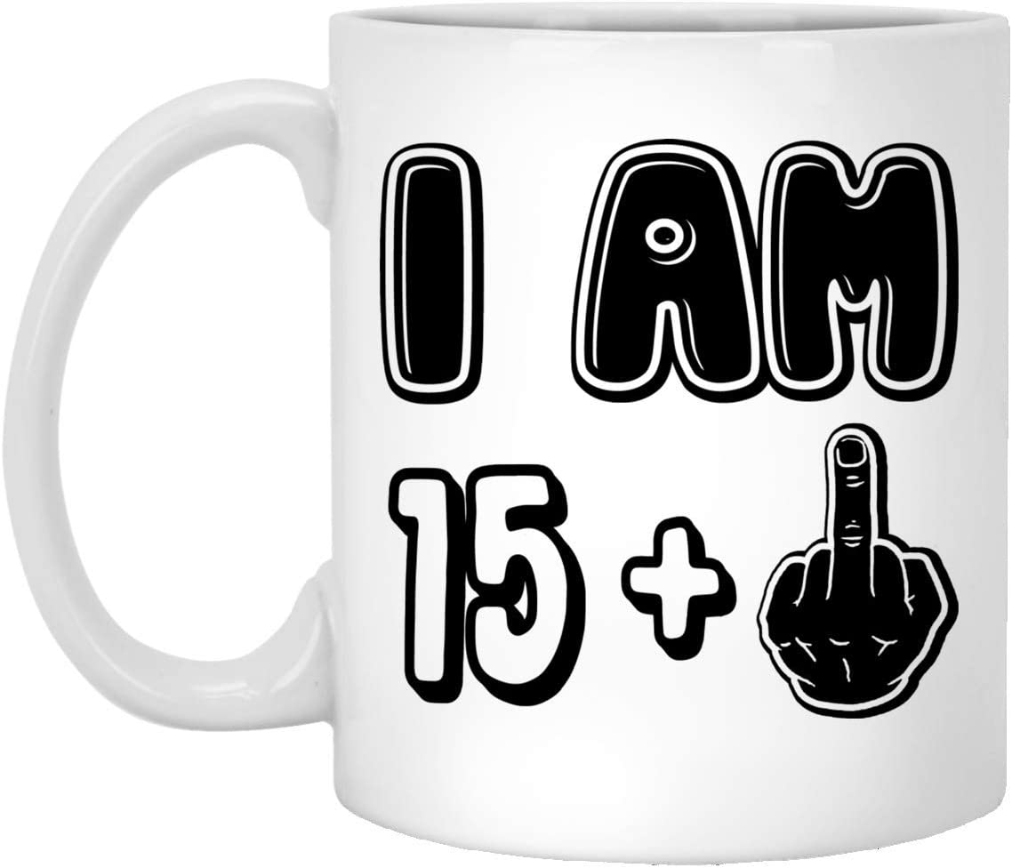 Funny 16th Birthday Gifts For Boy Girl Coffee Mug 11oz Vintage Happy 16th Birthday Gift Ideas For Teenage Sister Brother Granddaughter Him Her Boyfriend Girlfriend Son Or Daughter Amazon Co Uk