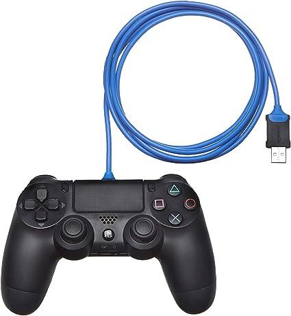 AmazonBasics - Cable de carga para mando de PlayStation 4: Amazon.es: Videojuegos