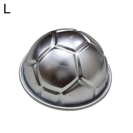 ZHOUBA Hemisphere - Molde para hornear con forma de balón de ...