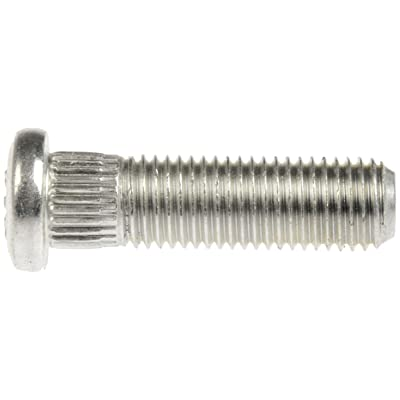 Dorman 610-360 M12-1.50 Serrated Wheel Stud - 13.41mm Knurl, 51.5mm Length (Box of 10): Automotive [5Bkhe0812499]