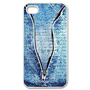 Denim ZLB564349 Customized Phone Case for Iphone 4,4S, Iphone 4,4S Case