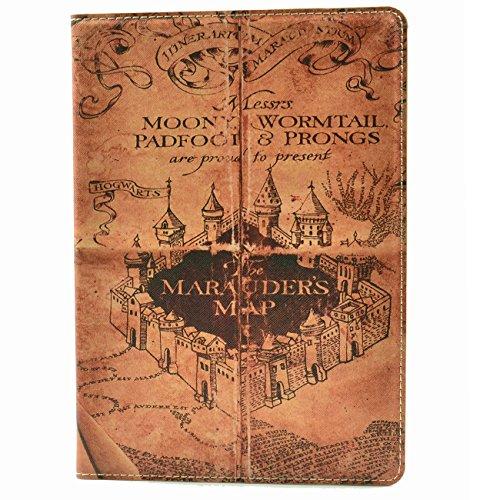 Hogwarts Marauders Vintage Pattern Leather
