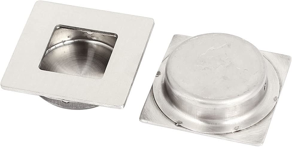 uxcell a15081200ux0084 empotrable tirador de puerta corredera cajón 50 mm cuadrado empotrado Flush Pull mango 2pcs: Amazon.es: Bricolaje y herramientas