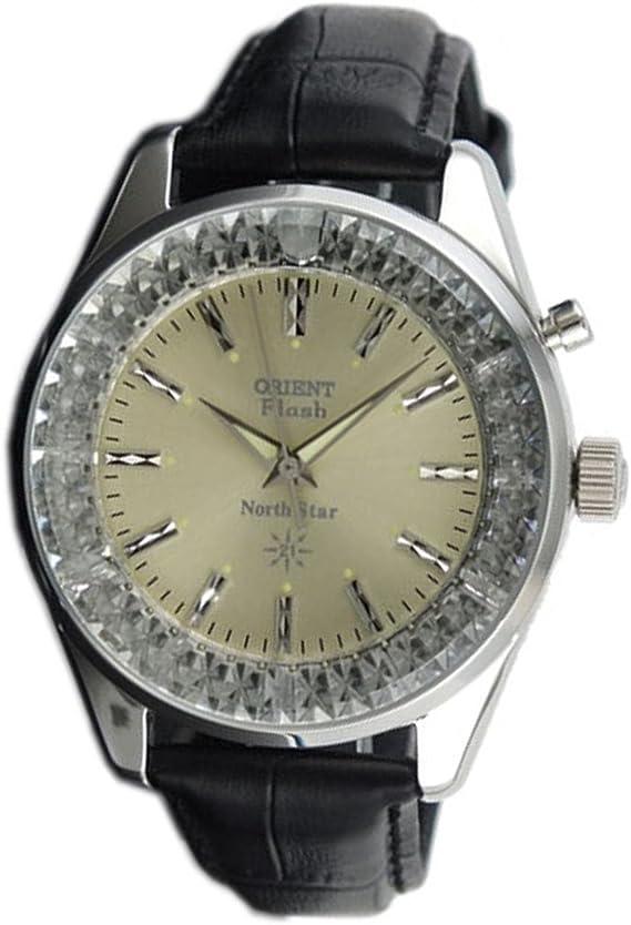 [オリエント] ORIENT 腕時計 手巻き ノーススター 復刻モデル URL003DL メンズ
