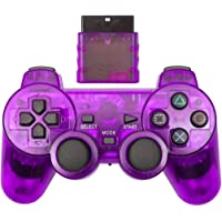 Cotchear Wireless Gamepad for PS2 Controller for Playstation 1 2 Console Joystick Double Vibration Shock Joypad Wireless…