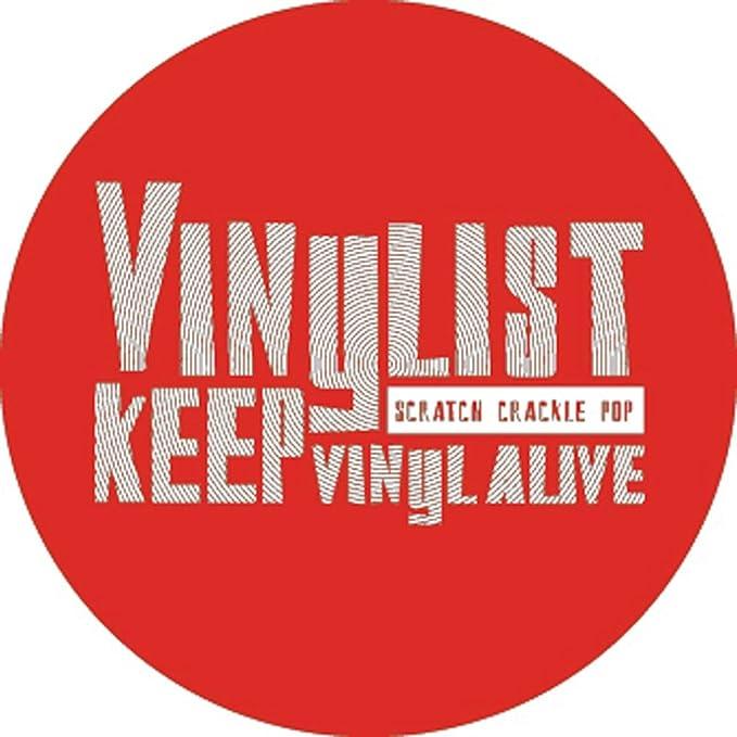 Dmc Vinylist Keep Vinyl Alive - Alfombrilla para tocadiscos ...