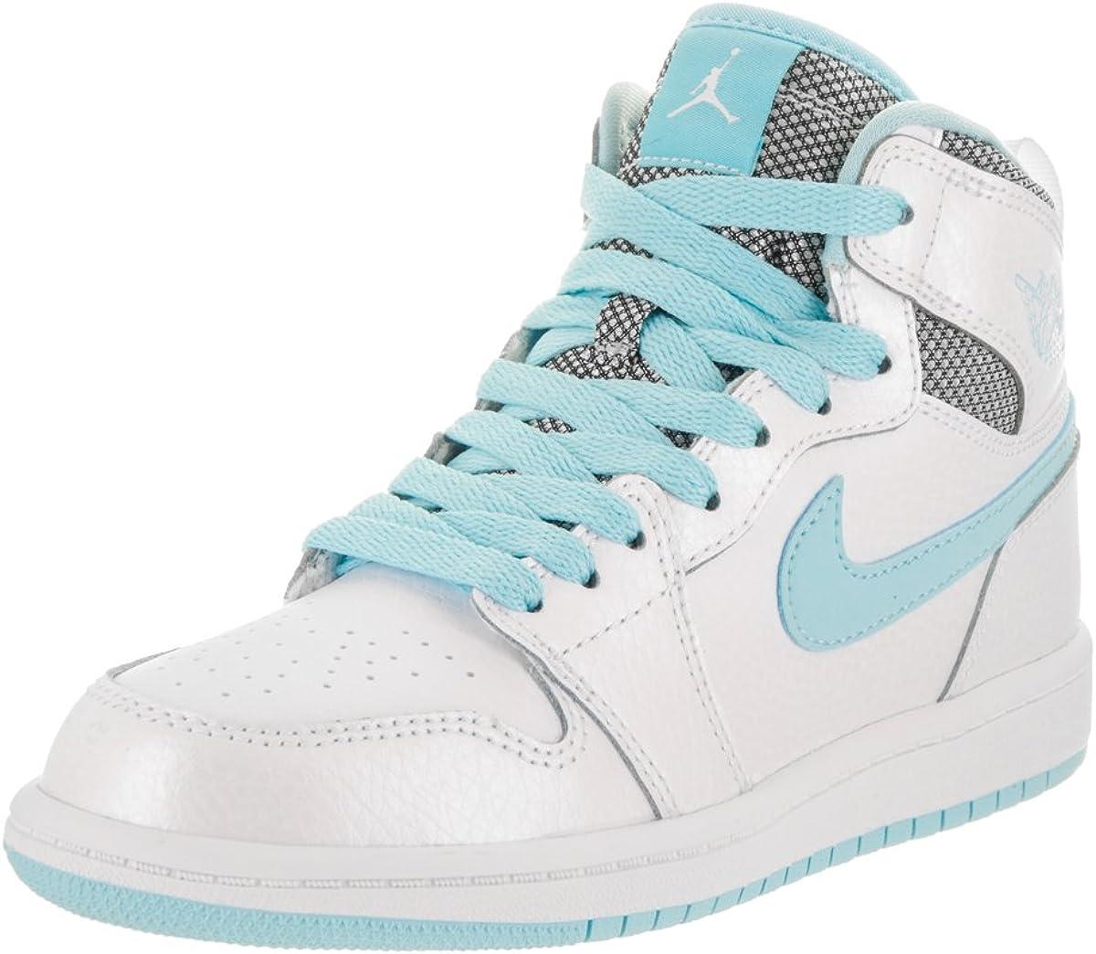 Jordan Nike Kids 1 Retro High GP White