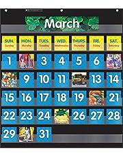 Pocket Chart Monthly Calendar (Black)