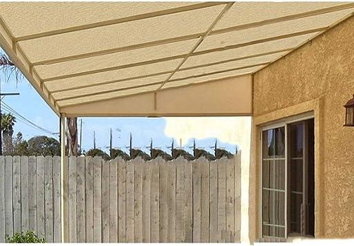Toldo Sombra Red Ligero Protector Solar Tela Aislante Red Sombra Solar Malla Protección de Plantas Cubiertas Patio Exterior Jardín (Size : 4X4m): Amazon.es: Hogar