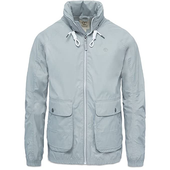 Timberland Hombre Chaqueta Impermeable Frankln Hooded ...