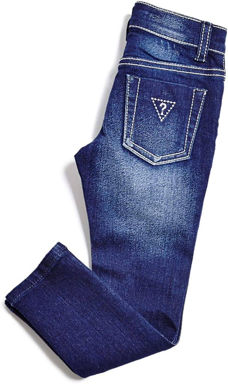 GUESS Factory Kids Girl/'s Emily Power Skinny Jeans 2-6