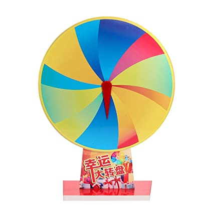 Buy Bloomerang 12 Slot Spin Fortune Prize Wheel Blank PVC