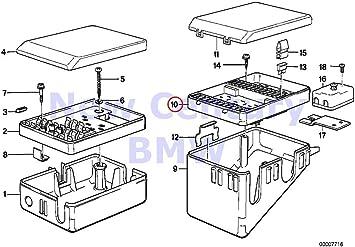 Amazon.com: BMW Genuine Fuse Box Fuse Box 635CSi M6 325e 325i: AutomotiveAmazon.com