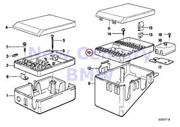 amazon com bmw genuine fuse box fuse box 635csi m6 325e 325i 1985 BMW 635CSi Body Kit