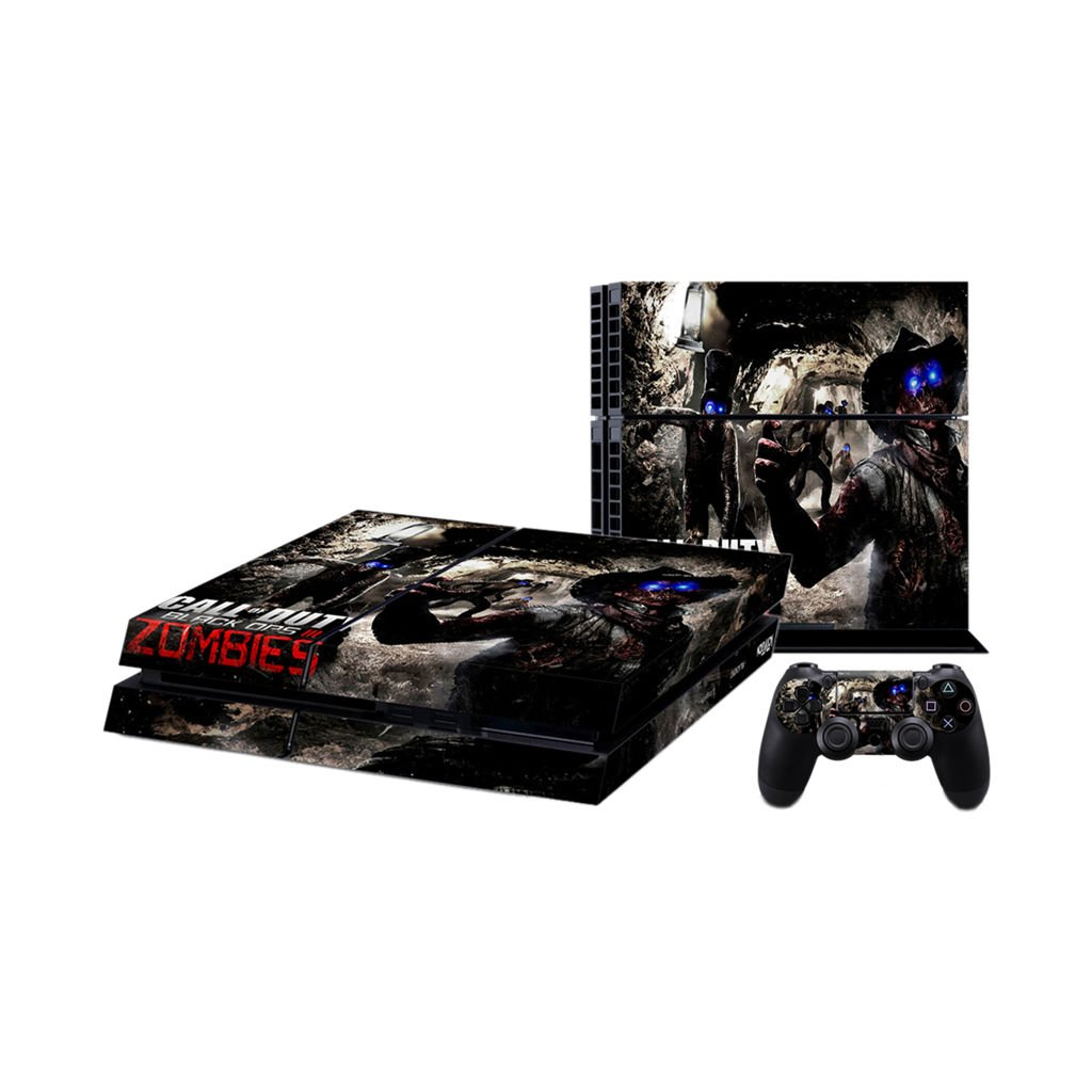 Amazon com playstation 4 skin ps4 console controller vinyl decal sticker set zombies black ops cod health personal care