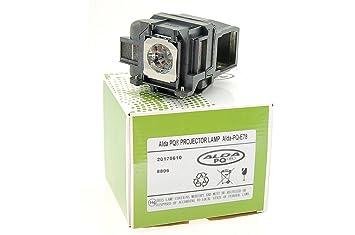 Alda PQ-Premium, Lámpara de proyector para EPSON EH-TW5200 Proyectores, lámpara con Carcasa