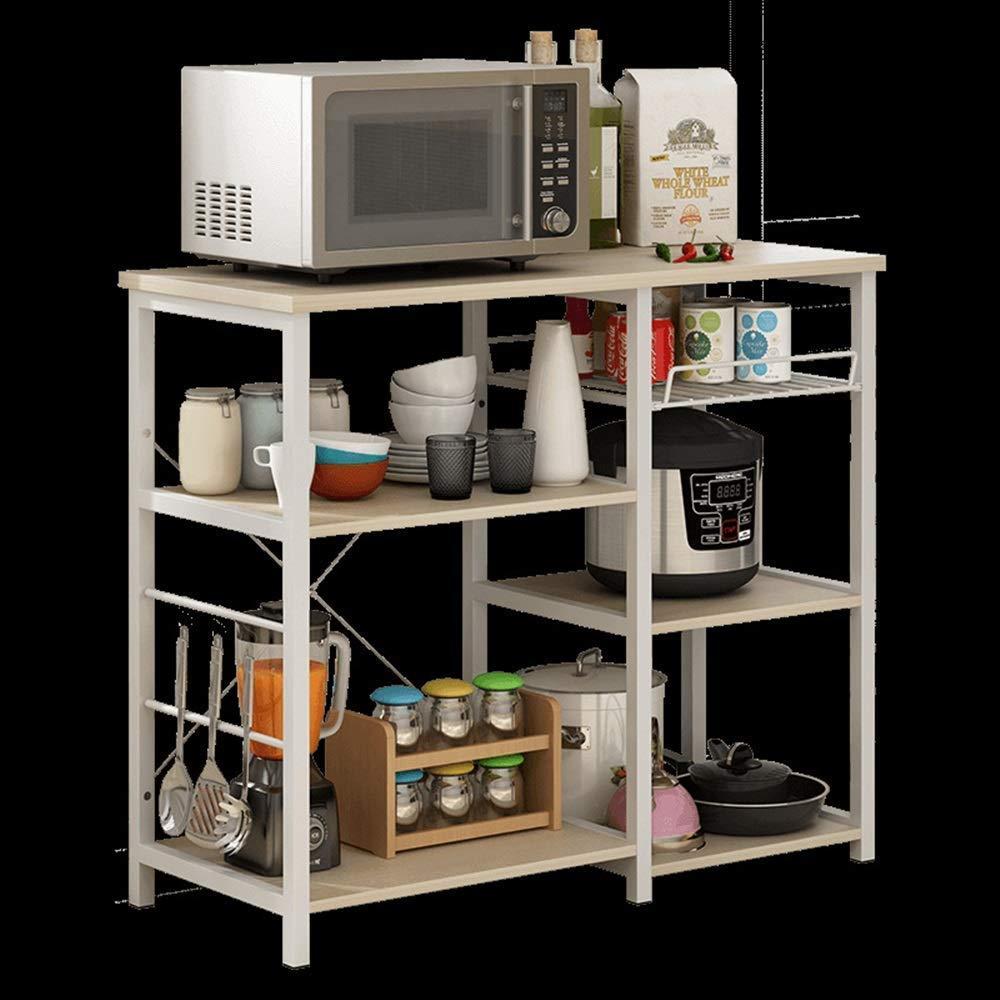Estante de cocina simple y práctico, para microondas, horno ...
