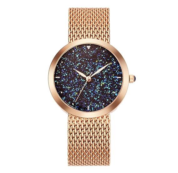 Reloj de pulsera impermeable para mujer Reloj de pulsera resistente al agua Reloj de cuarzo elegante