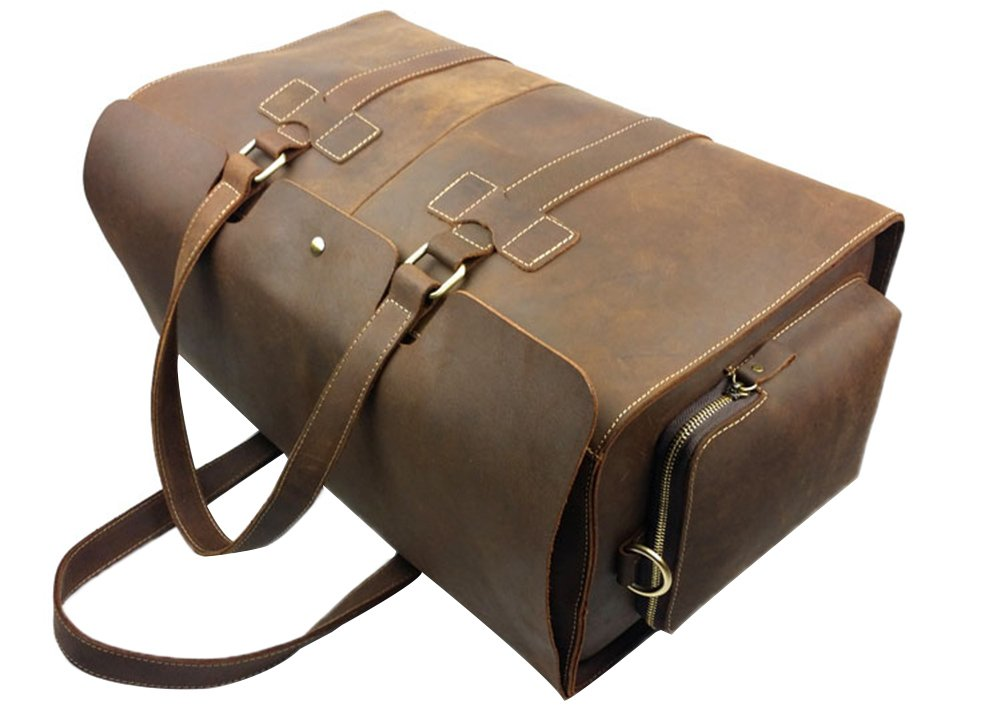 Genda 2Archer Vintage Travel Duffel Bag Boarding Luggage Carry On Gifts for Men by Genda 2Archer (Image #6)