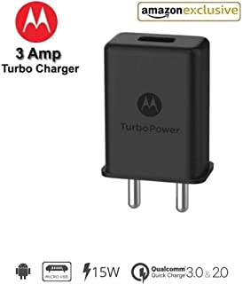 Motorola 3A TurboPower Wall Charger