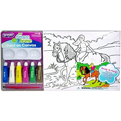 Breyer Horses Paint on Canvas Art Kit #4192: Sports & Outdoors