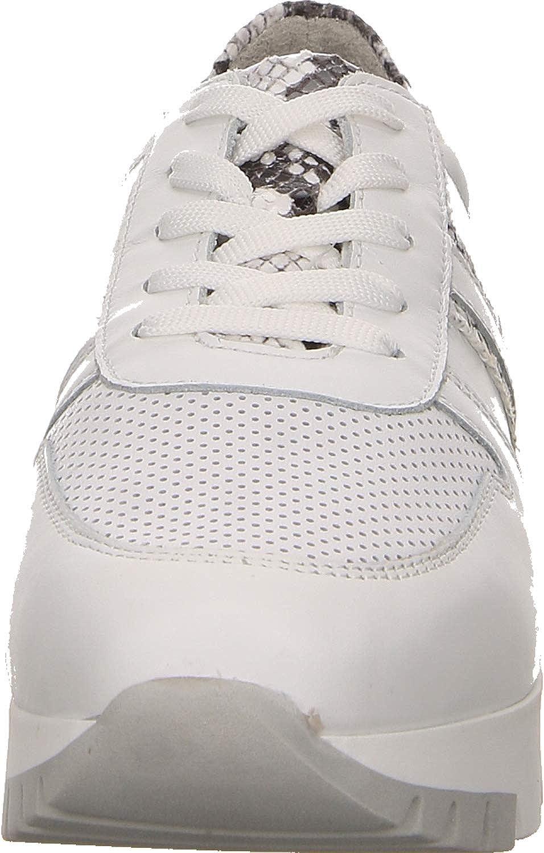 Tamaris , Sneakers Basses Femme Wht Lea Snake 066