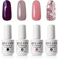 Gellen Environmental Gel Polish Set Shimmering 6 Grace Colors Nail Gel Kit