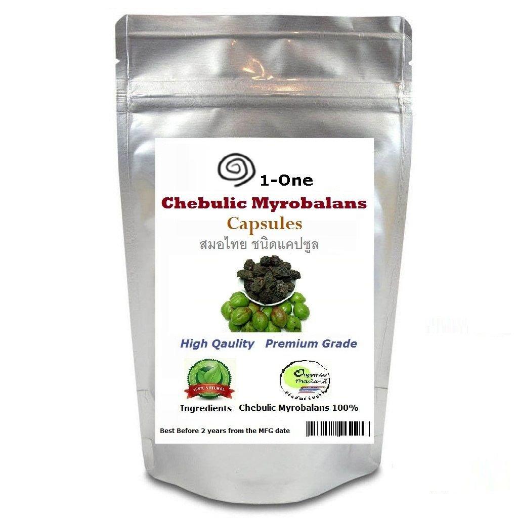 HARITAKI Terminalia Chebula Powder King of THAI Herb 100% Natural 180 capsules