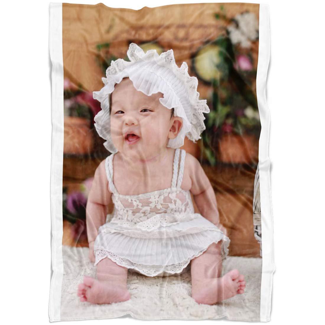 スローブランケット フルカラー 写真からのカスタム Baby。 フリースブランケット スーパーソフト B07L1LQ3P3 赤ちゃん&大人用 ウェディングギフトに最適 A1 Fleece Tall Baby 30