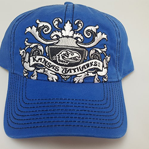 NCAA New Kansas University Jayhawks Embroidered Buckle Back Cap by NCAA