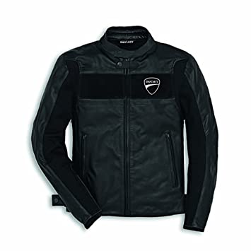 Amazon.com: Ducati Men's Company C2 Perforated Leather Jacket ...