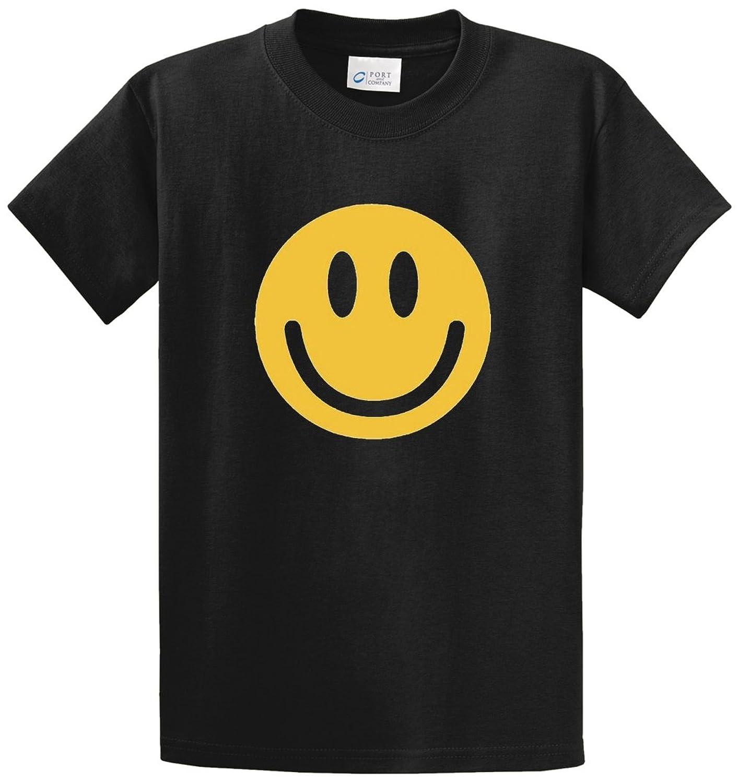 SMILE FACE Printed Tee Shirt