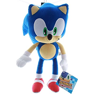 WalfiaA Sonic Hog Plush Toy Children Boys and Girls 33 cm: Toys & Games