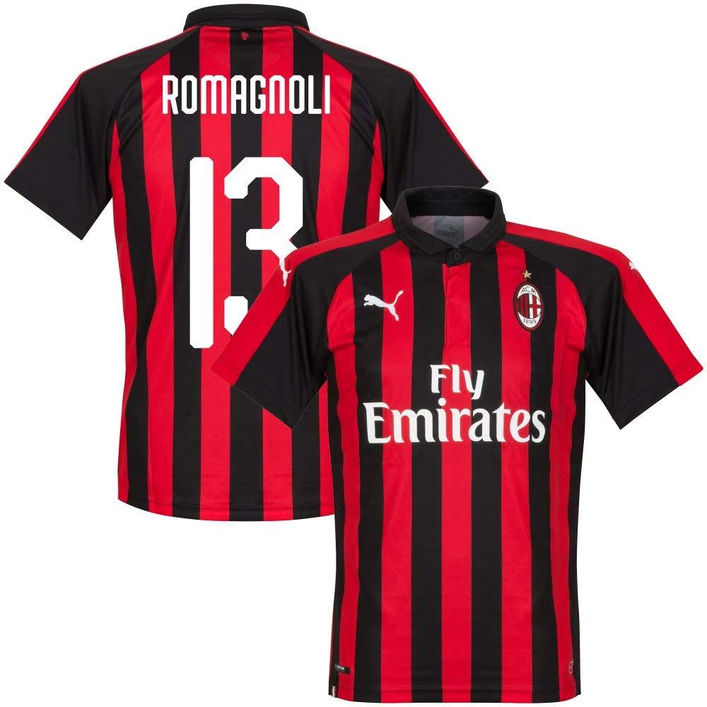 AC Mailand Home Trikot 2018 2019 + Romanogli 13 (Fan Style)