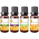 Paquete 4 aceites bienestar Herbolare 5ml. Deliciosas mezclas de aceites 100% puros con múltiples beneficios.