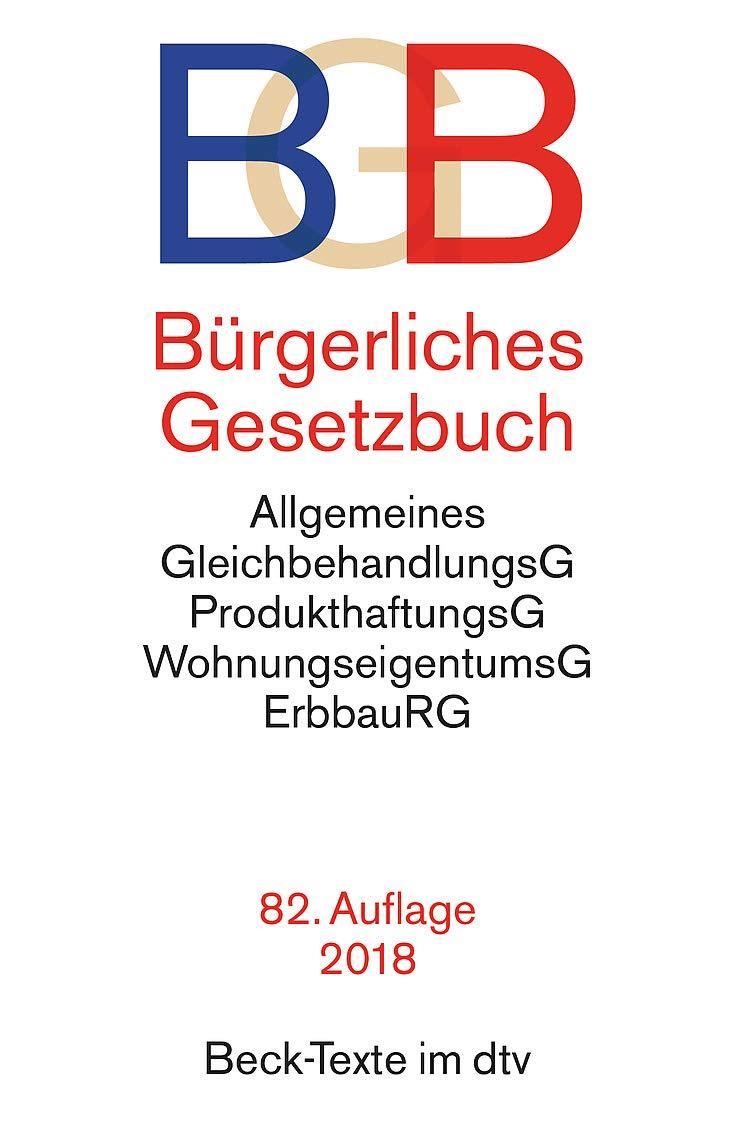 Bürgerliches Gesetzbuch Bgb Mit Allgemeinem Gleichbehandlungsgesetz