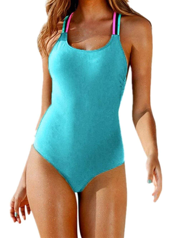 BoBo-88 Bikini Conjunto De Push Mujeres Up Halter Bandeau ...