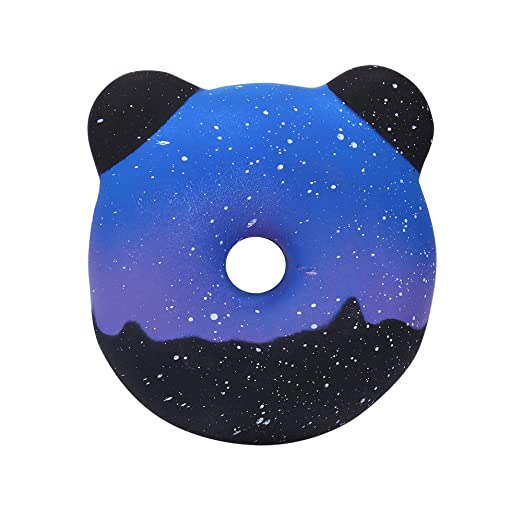 Islandse❤Squishies Galaxy Panda Donuts Kawaii Cream Scented Slow Rising Stress Relief Toy at Amazon Mens Clothing store: