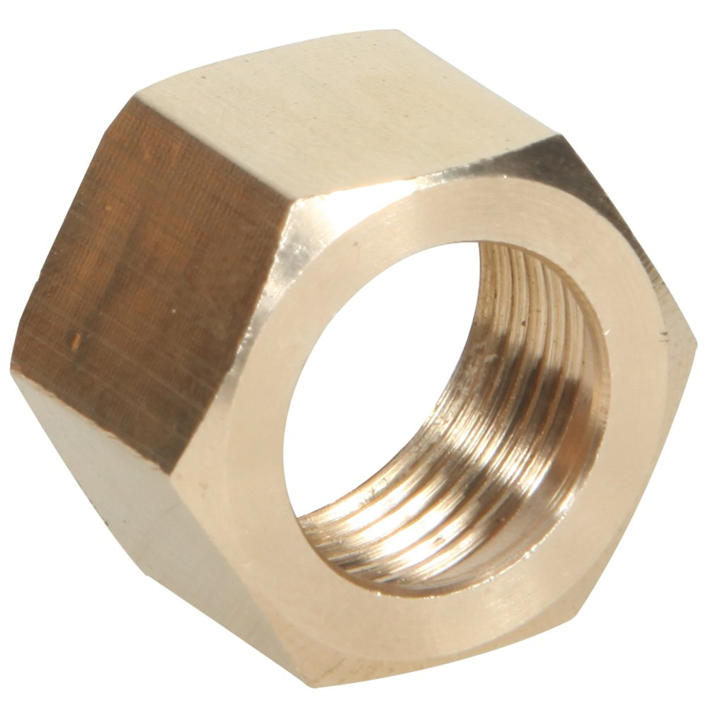 20 Pack Midwest Control 261X4-P20 1//4 OD Tube Brass Nut