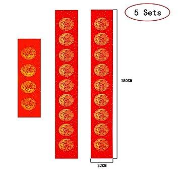 Amazon.com: QJang 5 juegos de carteles hechos a mano en ...