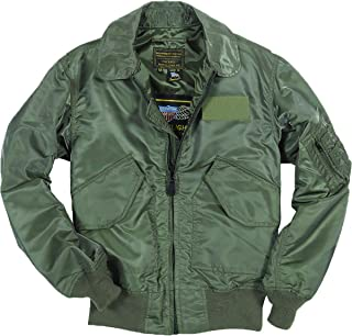 product image for Cockpit USA US Fighter Sage Green Weapons Jacket