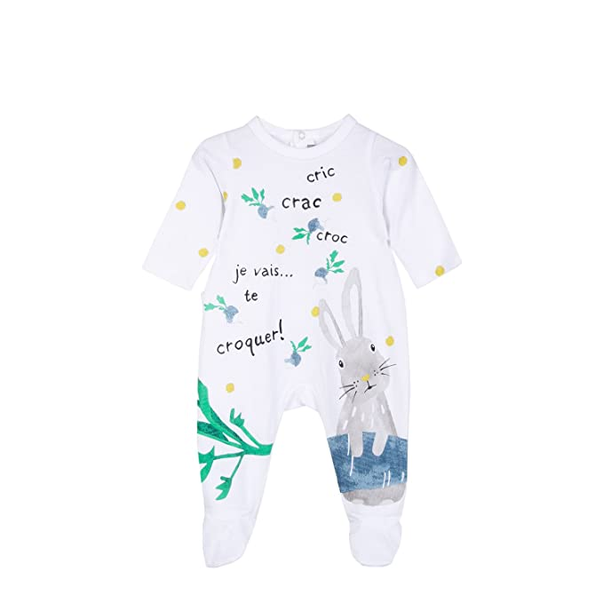 Catimini Pyjama Jersey, Pelele para Dormir para Bebés, (Imprimé 01), 6
