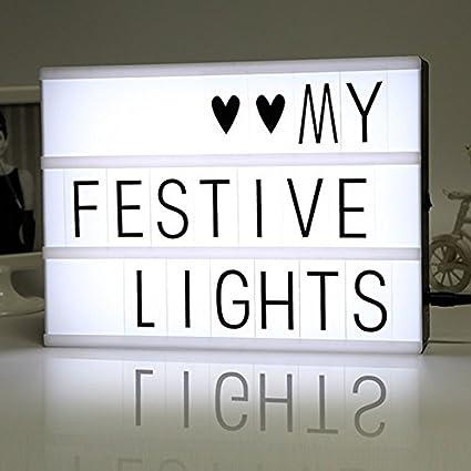 Beecoco Light Box A4 Lightbox Luminosa Cinematografica Lampada Con