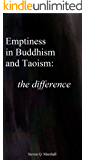 Emptiness in Buddhism and Taoism: the Difference